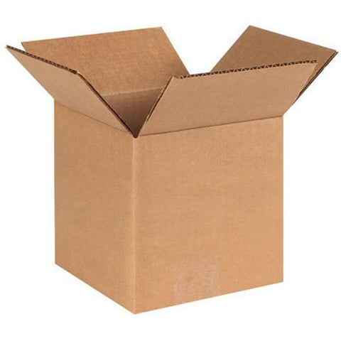 "10""x10""x10"" Corrugated Brown Shipping Box (25 Pack)"