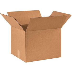 "16""x14""x12"" Corrugated Brown Shipping Box (20 Pack)"