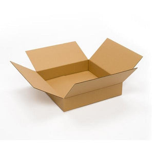 "6""x4""x4"" Corrugated Brown Shipping Box"