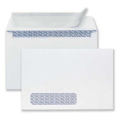 "6"" x 9"" Heat Resistant Window Pull & Seal Security Envelopes, 500/Pack"