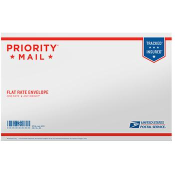 "Priority Mail Flat Rate Legal Size Envelope 15"" x 9 1/2"", 10/pack"