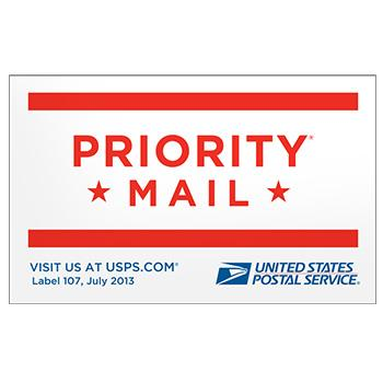 Priority Mail Sticker
