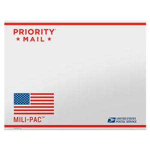 "Priority Mail APO/FPO Tyvek Envelope 15 1/8"" x 11 5/8"", 10/pack"