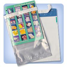 Polyolefin Pull & Seal Clear Catalog Envelopes, 100/pack