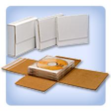 White Self-Seal Expandable StayFlat Media Mailers