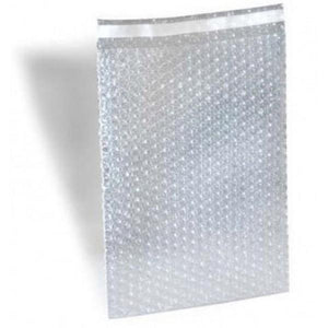 "Size 4""x7.5"" Protective Bubble Bags with Peel-N-Seal"