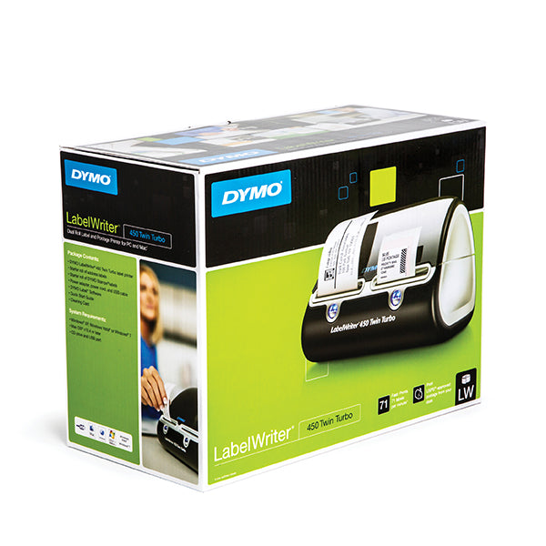 Dymo LabelWriter 450 Twin Turbo Thermal Label Printer