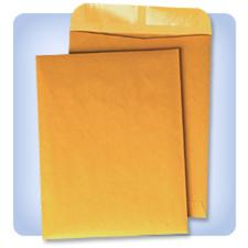 Kraft Gummed Closure Catalog Envelopes, 100/pack