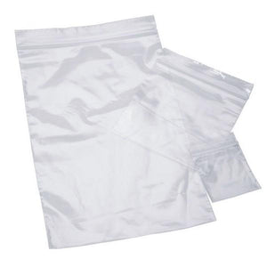 "10""x13"" Clear Recloseable 2mil Poly Bags"