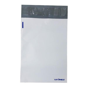 "12""x15.5"" White Poly Mailer with Peel-N-Seal"
