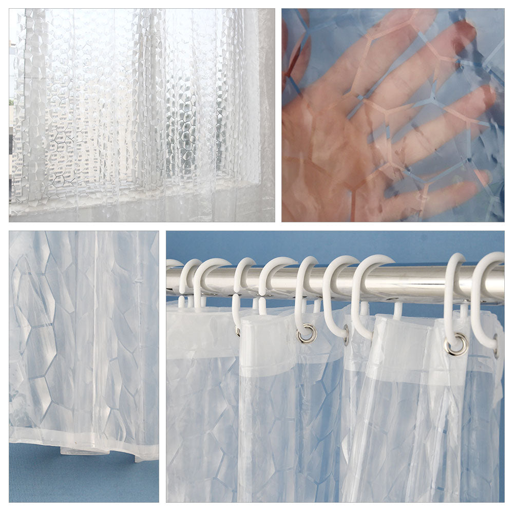 install a steps shower curtains to clear step pictures how curtain with