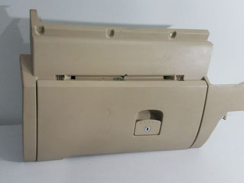 1998 - 2009 VW BEETLE GLOVE BOX COMPLETE TAN COLOR OEM