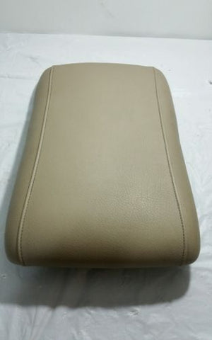 03-06 FORD EXPEDITION LEATHER CENTER CONSOLE LID ARMREST MIDDLE TAN OEM