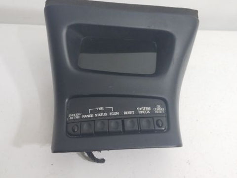 1998-2001 FORD EXPLORER & MERC. MOUNTAINEER INFORMATION DISPLAY MESSAGE CENTER