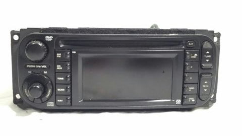 04- 07 Dodge Ram Jeep Chrysler CD Player Navigation Radio RB1 OEM P56038629AD