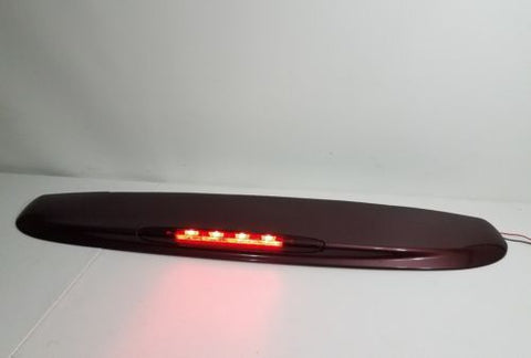 02 - 09 GMC ENVOY CHEVY TRAILBLAZER REAR HATCH SPOILER W/ 3RD BRAKE LIGHT MAROON