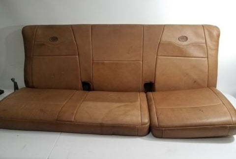 1999-2003 FORD F150 KING RANCH SUPER CAB LEATHER BACK SEAT BENCH OEM