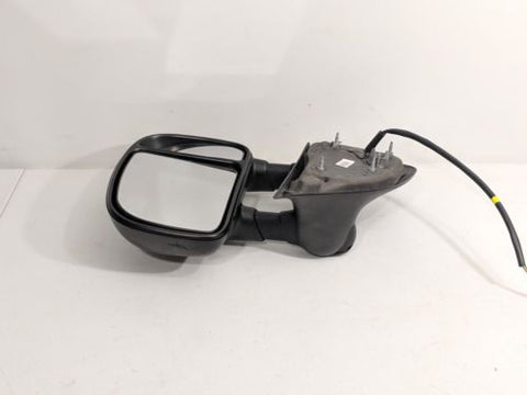 Light Fits 05-07 Ford 500 Montego Left Driver Mirror Power Smooth Black w//Heat