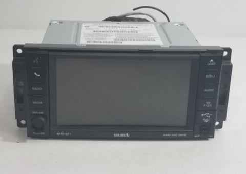 Jeep Chrysler Dodge MyGig 430 RBZ Low Speed Touchscreen Display Radio OEM 08-14