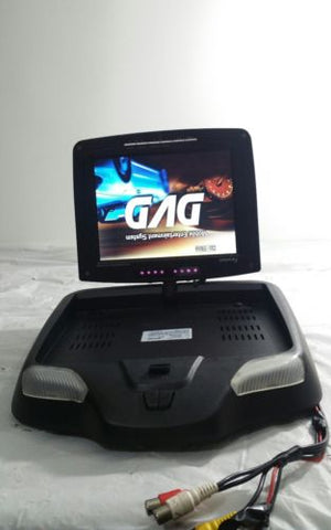 "Aftermarket Farenheit MD-830CM Overhead 8"" Swivel DVD Player System"