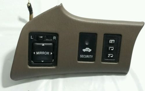99- 03 LEXUS RX300 MIRROR CONTROL SEAT MEMORY SECURITY SWITCH OEM.