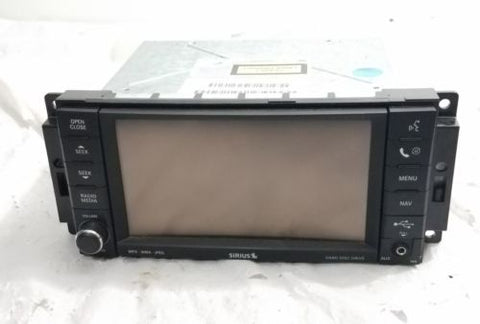 07-13 DODGE CHRYSLER JEEP LOW SPEED NTG4 RER GPS MYGIG NAVIGATION RADIO