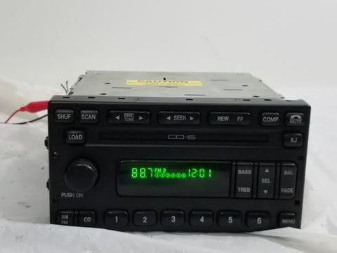 01-04 Ford Explorer Mustang Radio 6 Cd Changer Mach 3L2T18C815FB (PARTS ONLY)