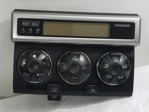 06-09 TOYOTA 4RUNNER SPORT TEMPERATURE AC HEATER CLIMATE CONTROL OEM F21PP53
