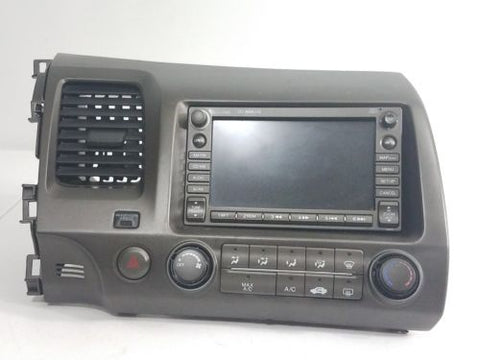 06-09 HONDA CIVIC RADIO CD GPS NAVIGATION COMPLETE 39541 SMS A010 M1 OEM