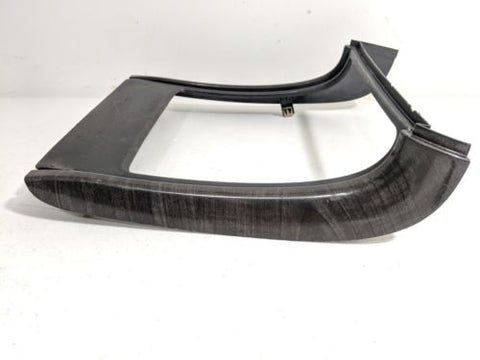 03-06 Escalade Tahoe Suburban Front Cup Holder Trim Bezel Wood Grain Gray