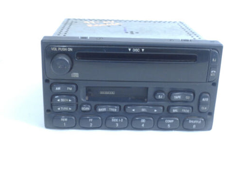 99-04 Ford Ranger Radio Am Fm CD XL2F18C868DA