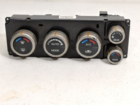 07-09 NISSAN PATHFINDER AC HEATER CLIMATE CONTROL OEM