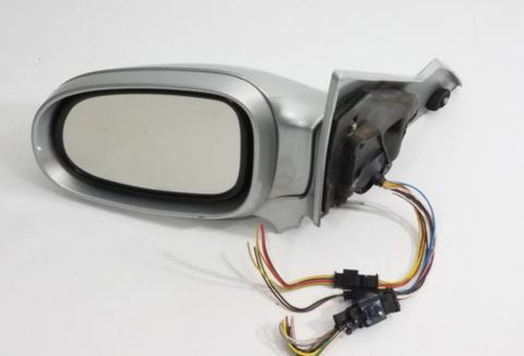 2000-2003 MERCEDES BENZ CLK320 CLK430 W208 DRIVER LH SIDE DOOR MIRROR SILVER OEM