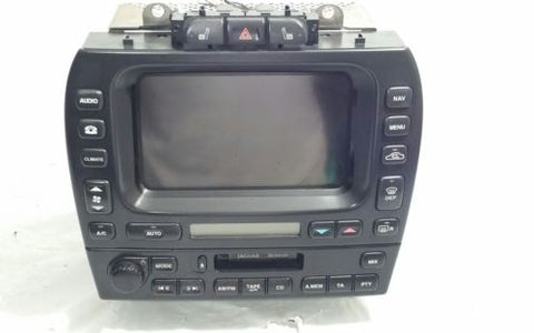 2003-2008 JAGUAR S-TYPE NAVIGATION DISPLAY SCREEN CLIMATE CONTROL CASSETTE OEM