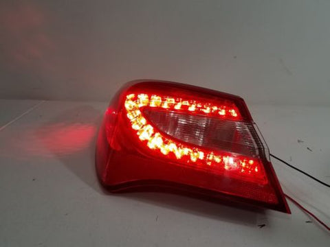 11-14 CHRYSLER 200 SEDAN DRIVER LH LED TAILIGHT ASSEMBLY OEM WORKING