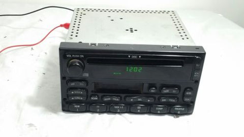 99-03 FORD TRUCK /VAN RADIO AM FM CASSETTE CD PLAYER YU3F-186868-AA OEM