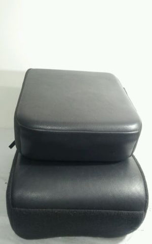 02-05 DODGE RAM 1500 2500 3500 CENTER FOLDING JUMP SEAT ARM REST CONSOLE GRAY