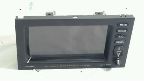 01 02 03 04 HONDA ODYSSEY INFO-GPS-TV SCREEN DISPLAY SCREEN DASH NAVIGATION