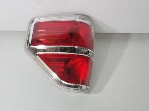 09-14 FORD F150 LH TAILLIGHT TAIL LAMP CHROME 9L34 13B504 A