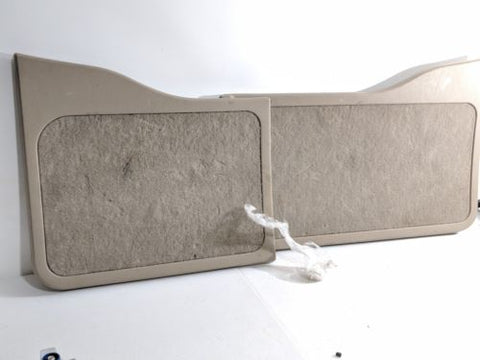00- 05 FORD EXCURSION REAR BARN DOOR PANELS OEM TAUPE