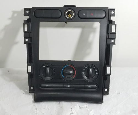 05-09 FORD MUSTANG HVAC RADIO BEZEL CLIMATE CONTROL UNIT DASH TRIM OEM