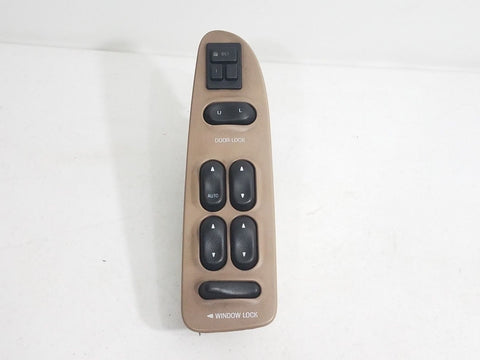 99- 02 NAVIGATOR LEFT DRIVER MASTER POWER WINDOW SWITCH TAN OEM