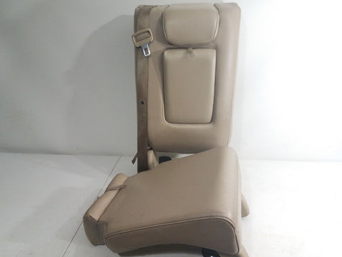 2005-2012 NISSAN PATHFINDER 2nd ROW MIDDLE CENTER SEAT TAN LEATHER