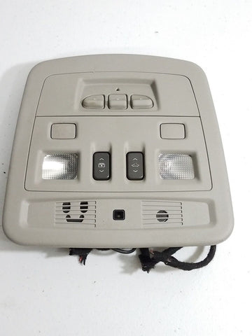 08-13 CADILLAC CTS OVERHEAD SUNROOF/DOME LIGHT/GARAGE DOOR OPENER OEM