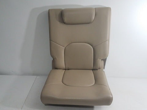 05-10 NISSAN PATHFINDER OEM TAN LEATHER 3rd ROW REAR LEFT SEAT