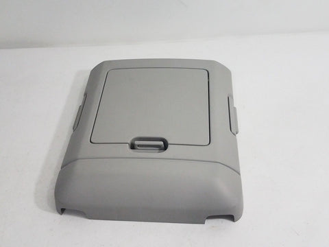 04-08 FORD F150 OVERHEAD CONSOLE SLIDING RAIL STORAGE COMPARTMENT GRAY