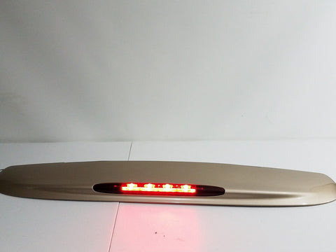 02 - 09 GMC ENVOY CHEVY TRAILBLAZER REAR HATCH SPOILER W/ 3RD BRAKE LIGHT TAN