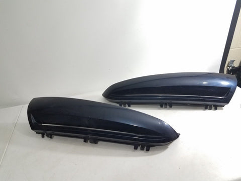 02-06 ESCALADE DRIVER LEFT & RIGHT REAR LIFT GATE TRUNK LIGHT MOLDING TRIM BLUE