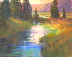 Into the Lake - Sold