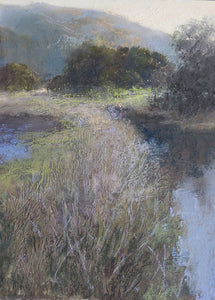 Tule Canal Morning - Sold